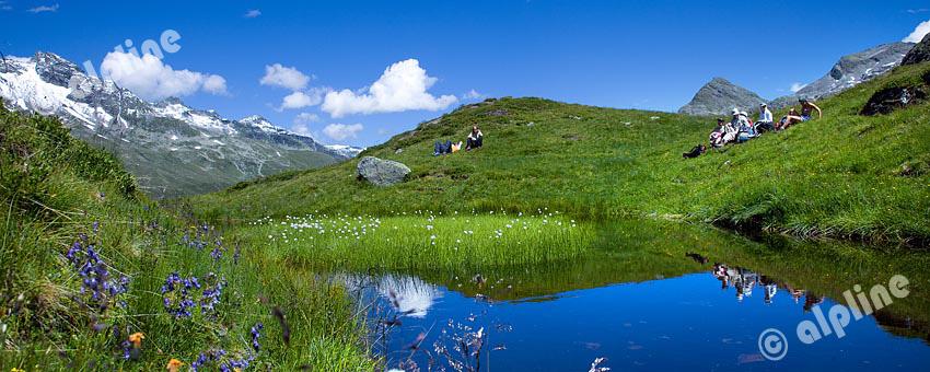 Salzbodensee, auch Gottesauge genannt am Großvenediger, Nationalpark Hohe Tauern, Osttirol
