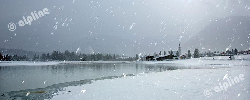 Winterstimmung bei St. Ulrich am Pillersee, Tirol