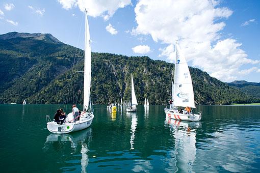 Segeln am Achensee, Tirol