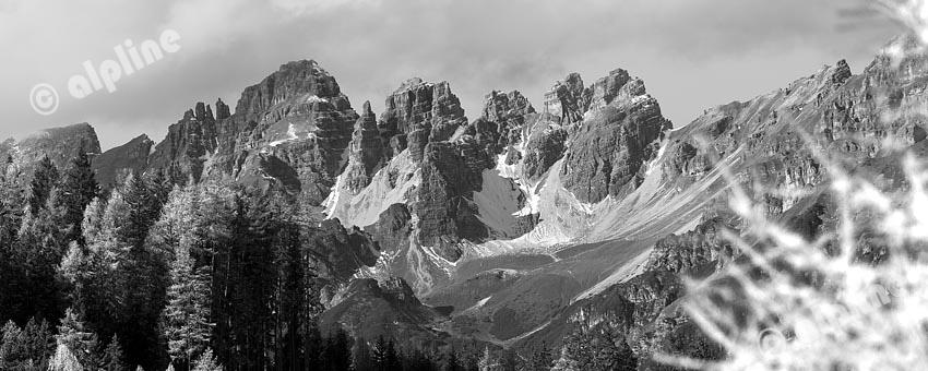 Tirol, Stubaital: Die Kalkkögel (Stubaier Alpen)