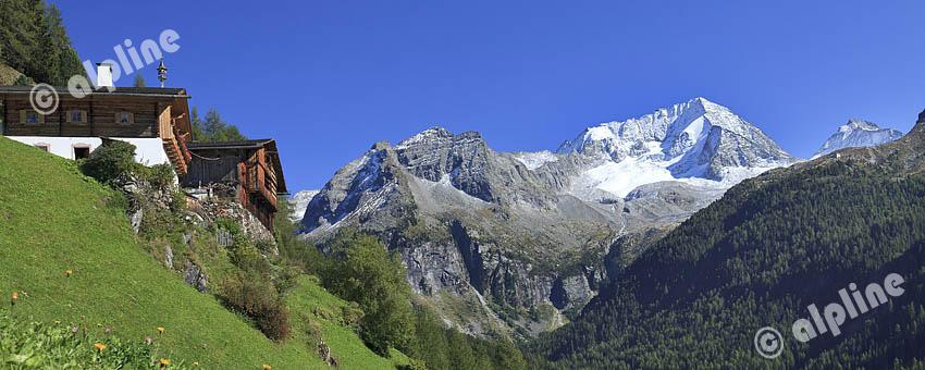 Der Hochgall in der Rieserferner Gruppe im Tauferer Tal, Südtirol