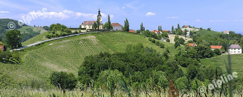 Weinregion Sausal-Kitzeck in der Weststeiermark