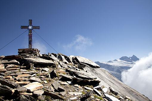 In der Granatspitz Gruppe, am Muntanitz gegen Großglockner, Nationalpark Hohe Tauern, Osttirol