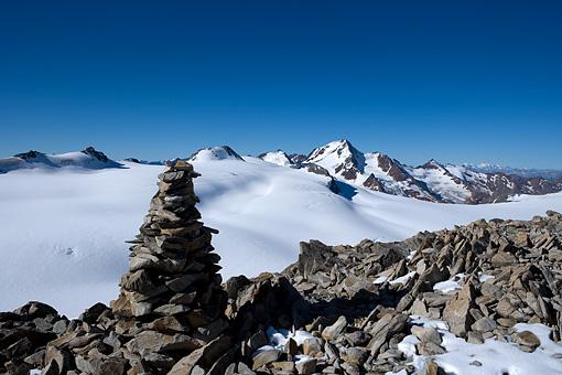 Weißkugel in den Ötztaler Alpen, Tirol