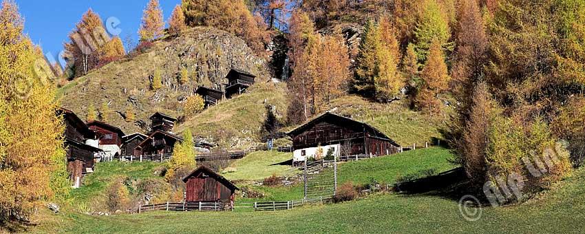 Apriacher Stockmühlen bei Heiligenblut in Kärnten, Nationalpark Hohe Tauern