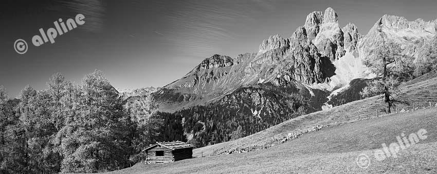 Die Bischofsmütze im Gosaukamm bei Filzmoos im Pongau, Dachsteinregion, Salzburger Land