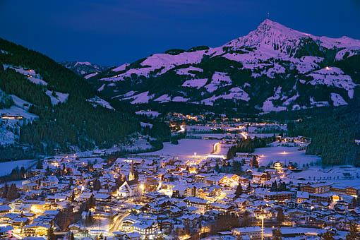 Kirchberg bei Kitzbühel gegen Kitzbüheler Horn, Tirol