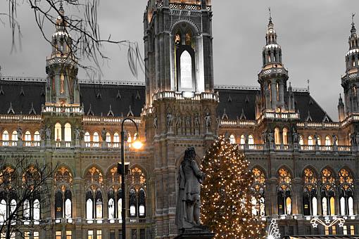 Weihnachten beim Wiener Rathaus