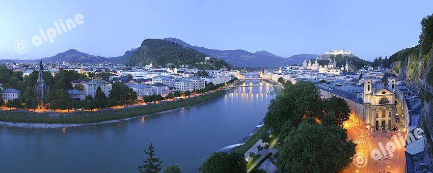 Salzburg im Abendlicht