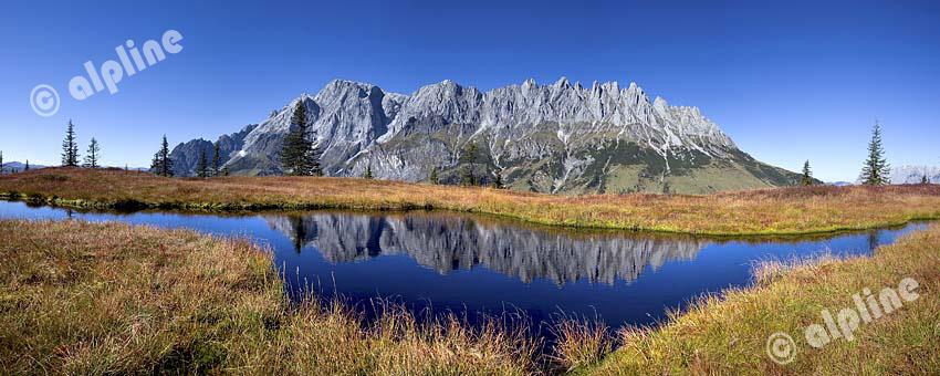 Die Mandlwand am Hochkönig im Pongau, Salzburger Land