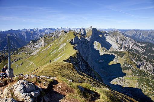 Auf der Rofanspitze im Rofan, Tirol