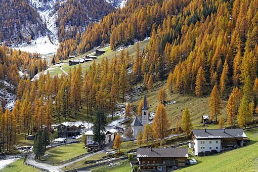 Kalkstein im Villgratental gegen die Alfen Alm, Osttirol