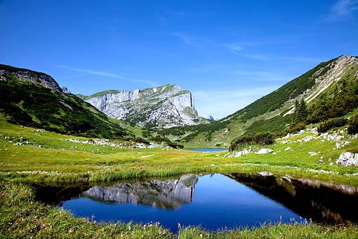Der Ziereiner See im Rofangebirge