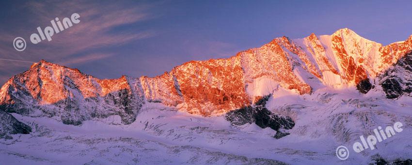 Hochfeiler in den Zillertaler Alpen, Tirol