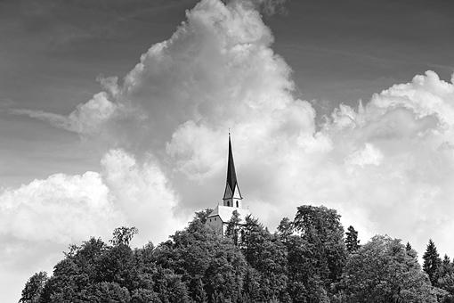 Kirche St. Nikolaus bei Ebbs, Nähe Kufstein, Tirol