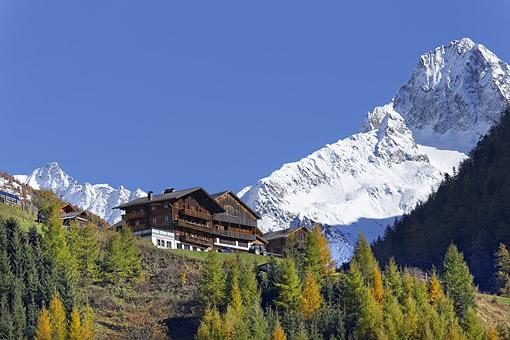 Oberlesach gegen Glödis Spitze (Schobergruppe), Osttirol