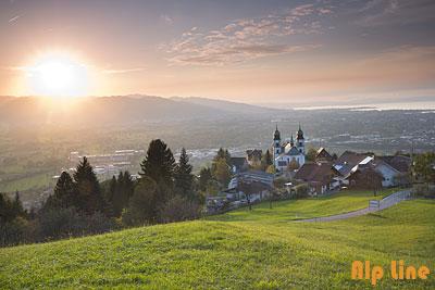 Wallfahrtsort Bildstein im Rheintal, Vorarlberg