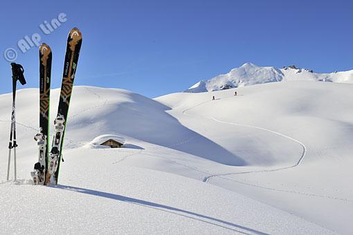 Auf Schitour in Lech am Arlberg