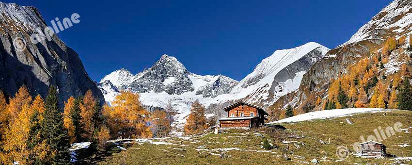 Der Großglockner bei Kals im Ködnitztal, Nationalpark Hohe Tauern, Osttirol