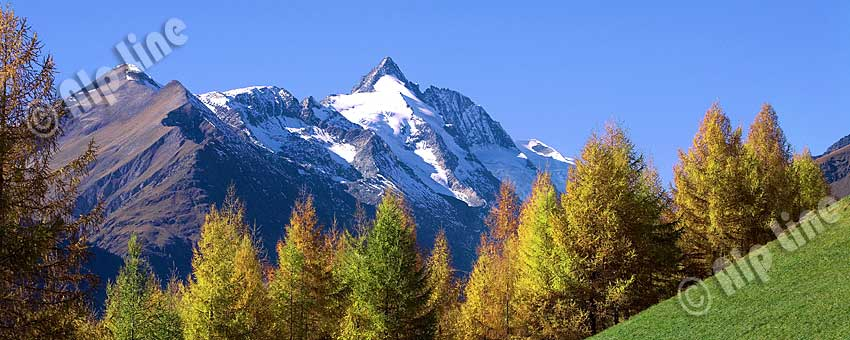 Großglockner in Kärnten, Nationalpark Hohe Tauern