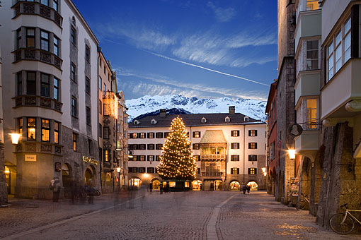 Altstadt Innsbruck im Advent, Tirol