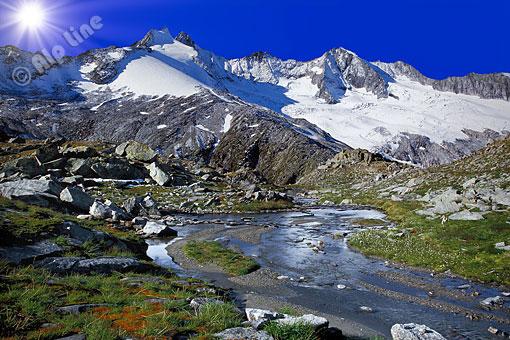 Reichenspitze in den Zillertaler Alpen, Tirol