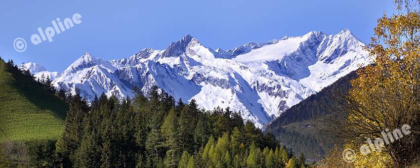 Die Malhamspitze in der Großvenediger-Gruppe, Nationalpark Hohe Tauern, Osttirol,