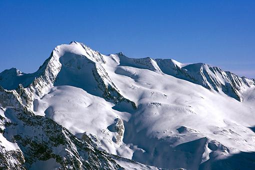 Tirol, Region Zillertal; Zillertaler Alpen Hauptkamm, der Gr. Möseler,