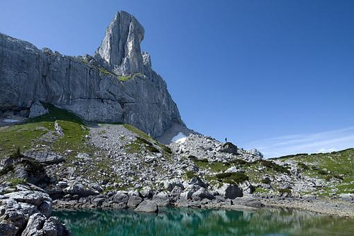 Der Rofanturm im Rofengebirge, Tirol