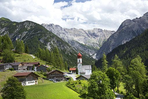 Bschlabs an der Hantenjochstraße im Lechtal, Tirol