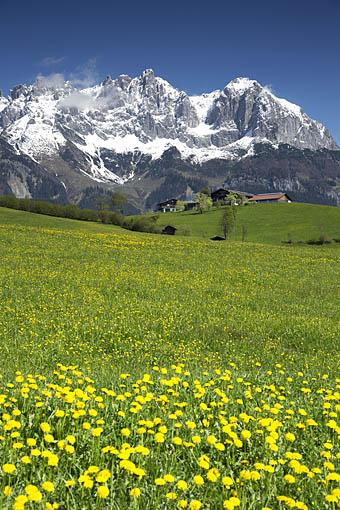 Kaisergebirge im Tiroler Unterland