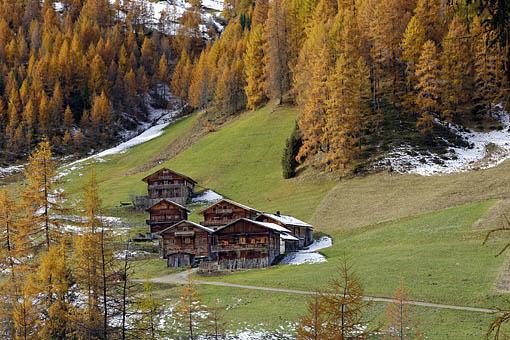 Tirol, Osttirol: Die Alfen Alm bei Kalkstein im Villgratental