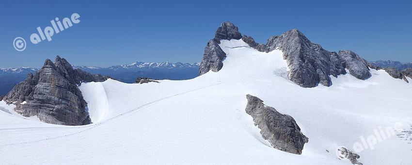 Steiermark: Der Hallstätter Gletscher am Dachstein in der Obersteiermark