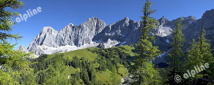 Steiermark: Dachsteinmassiv in der Obersteiermark