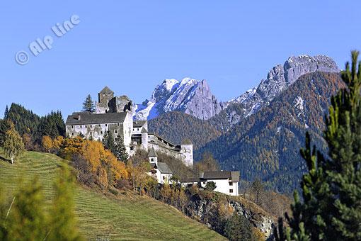 Burg Hainfels bei Silian im Pustertal, Osttirol
