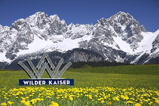 Wilder Kaiser bei Going, Tirol