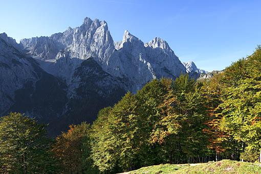 Kaisergebirge im Kaiserbachtal, Kaiserwinkel, Tirol