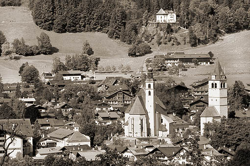 Die Gamsstadt Kitzbühel, Tirol