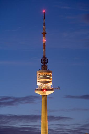 Donauturm in der Donaucity, Wien