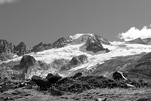 Gr. Möseler im Schlegeis, Zillertaler Alpen, Tirol