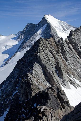 Tirol, Region Zillertal: Der Gr. Möseler 3480m Zillertaler Hauptkamm,