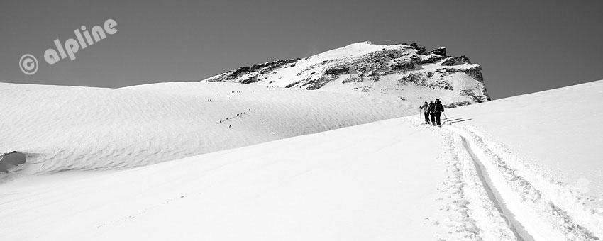 Am Stubacher Sonnblick in der Glocknergruppe, Nationalpark Hohe Tauern, Salzburg