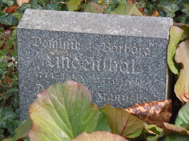 Die ersten in Brünn ansässigen Mitglieder der Familie Lindenthal waren Dominik und Barbara.