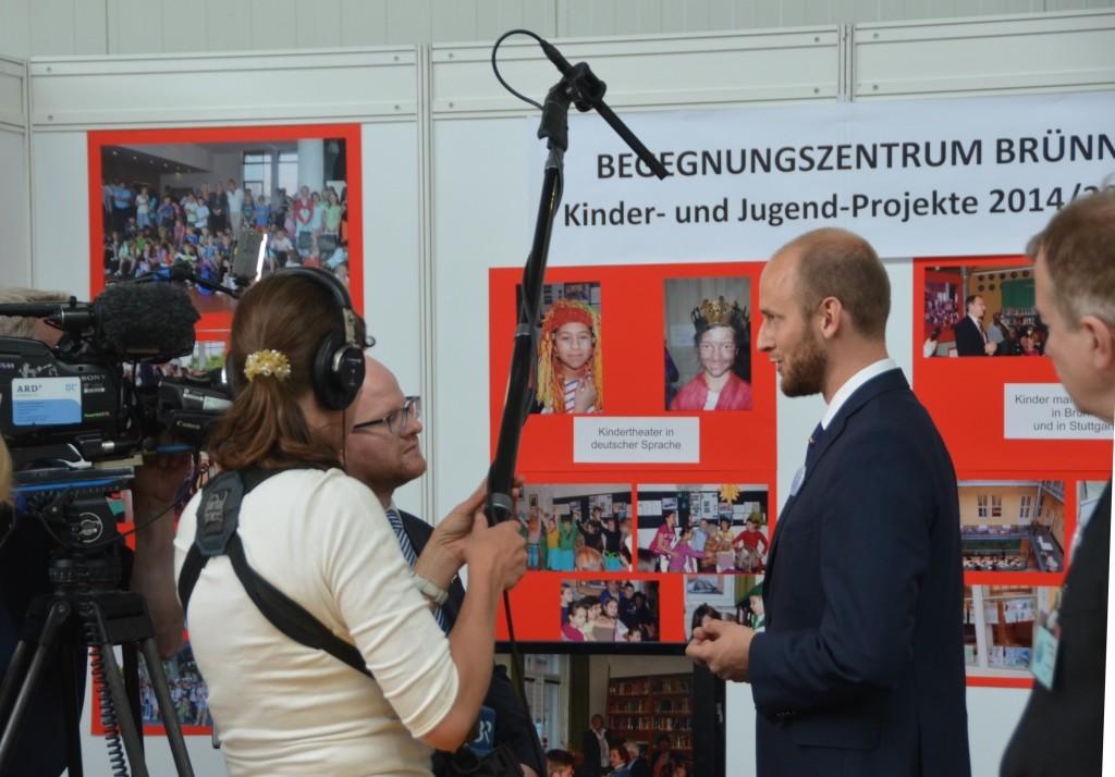 Fernsehinterview mit Herrn David Macek, Politiker  Landkreis Südmähren