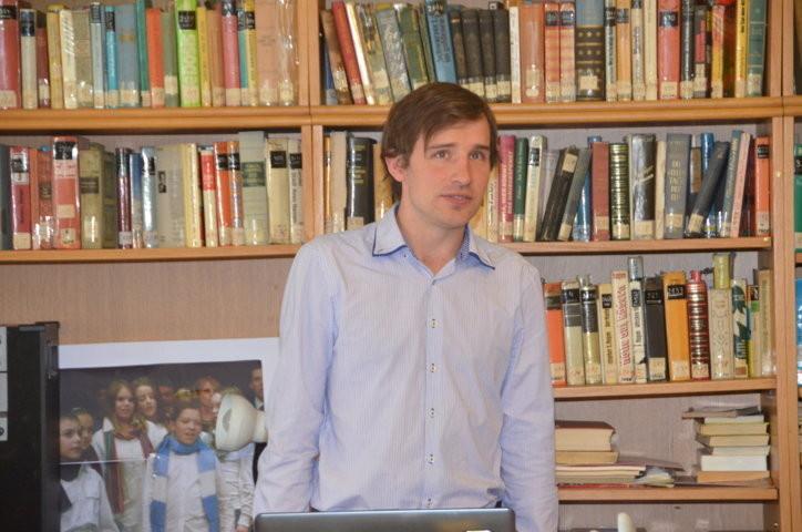 Herr Mgr. Ing. Petr Pytlík berichtet über Guido List und den Großen Krieg