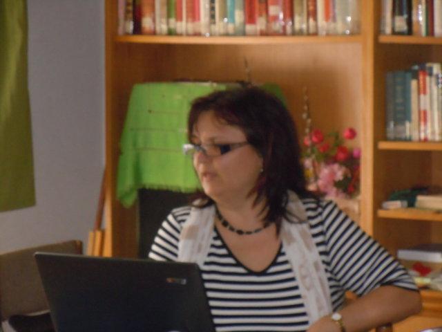 FRau Mgr. Hana Bartošová, engagiete Kuratorin des Brünner Technischen Museums