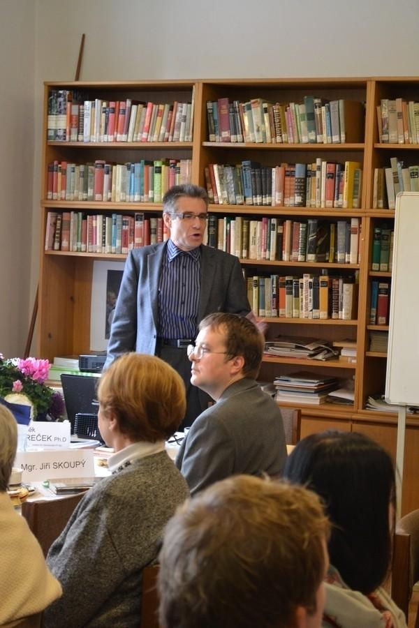 Herr Dr Zdeněk Mareček , dem wir für die Konzeption, die wissenschaftliche Absicherung und die gesamte Umsetzung der Idee sehr herzlich danken !