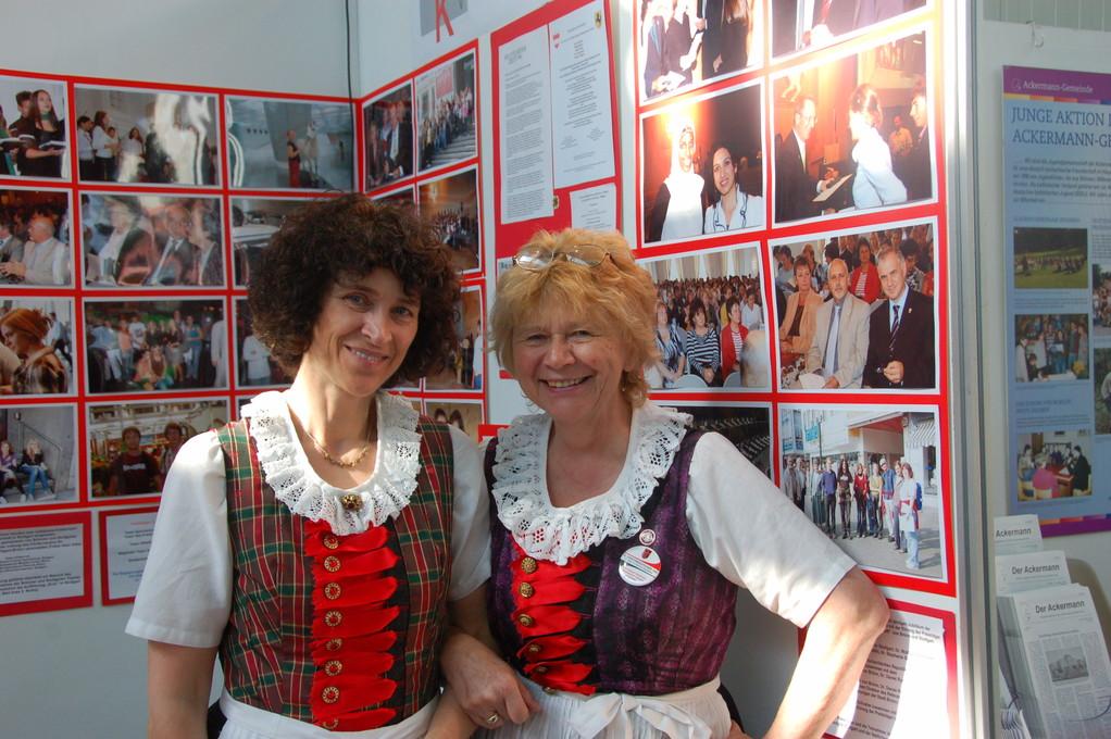 Frau Rosina Reim zu Besuch an unserem Stand