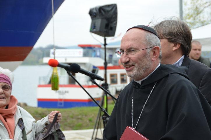 ThDr. Ing. Evzen Martinec, Abt des Augustinerordens Brünn