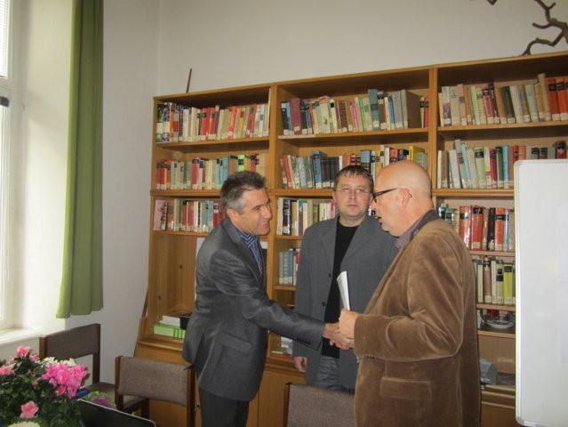 Zu den Ehrengästen gehört ebenfalls Herr Dr. Thomas Krzenck, Historiker aus Leipzig